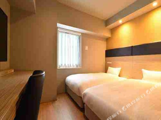 博多WBF格蘭大酒店(HOTEL WBF GRANDE HAKATA)標準雙床房