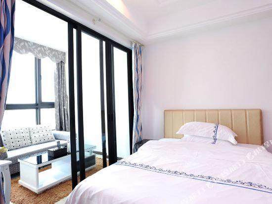 富米國際公寓(珠海華髮商都店)(Fumi Apartment Hotel (Zhuhai Huafa Mall))奢華大床房