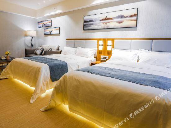佛山雲谷酒店式公寓豪華雙床房