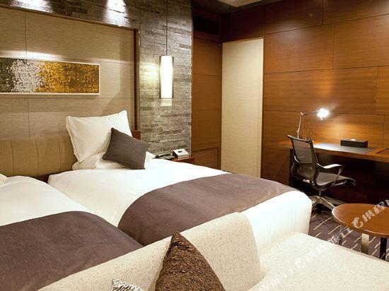 格蘭比亞大酒店(Hotel Granvia Osaka)格蘭比亞樓層高級雙床房