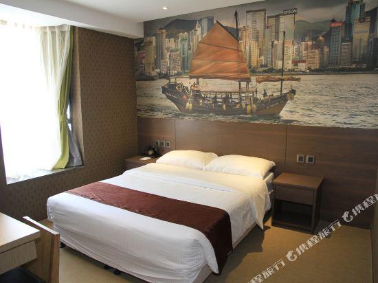 香港朗逸酒店(Largos Hotel)行政大床套房