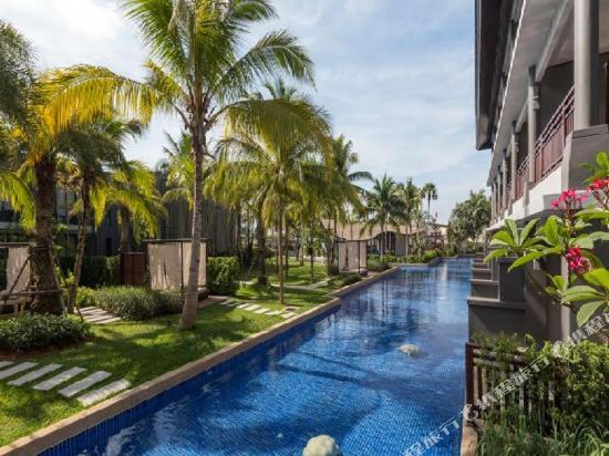 普吉島萬豪奈陽海灘水療度假村(Phuket Marriott Resort and Spa, Nai Yang Beach)室外游泳池