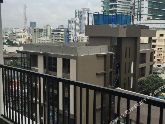 曼谷威爾酒店(Well Hotel Bangkok)眺望遠景