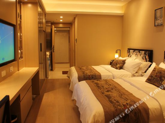 星倫國際公寓(廣州合生廣場店)(Xinglun International Apartment (Guangzhou Hopson Mall))公寓高級雙床房