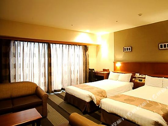 沖繩格蘭美爾度假酒店(Okinawa Grand Mer Resort)4人一室房