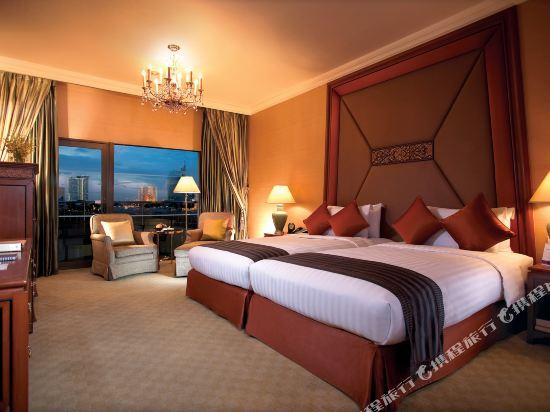 曼谷香格里拉酒店(Shangri-La Hotel Bangkok)KTW14 river view room