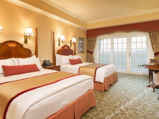 香港迪士尼樂園酒店(Hong Kong Disneyland Hotel)海景陽台客房