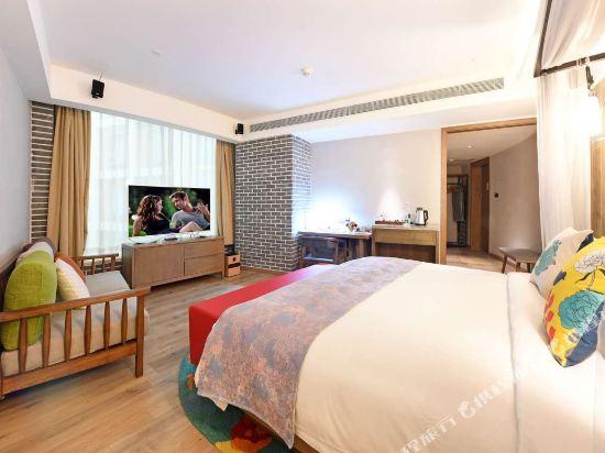 美豪麗致酒店(廣州五羊新城店)浪漫滿屋房