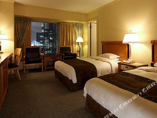 大阪麗嘉皇家酒店(Rihga Royal Hotel)塔翼-豪華樓層-套房(雙床)