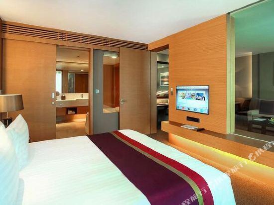 曼谷斯瓦特爾酒店(Sivatel Bangkok)兩卧室至尊攝政套房
