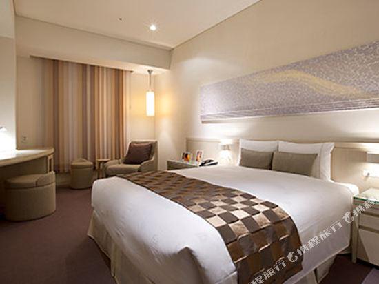 東京汐留皇家花園酒店(The Royal Park Hotel Tokyo Shiodome)標準雙人床房-Eriko Horiki設計(概念樓層)