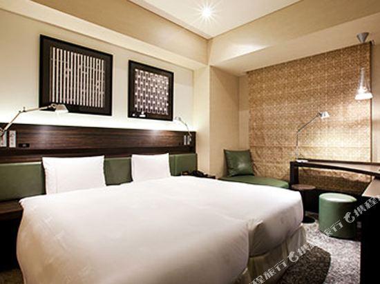 東京汐留皇家花園酒店(The Royal Park Hotel Tokyo Shiodome)經濟好萊塢雙床房-ILYA設計(概念樓層)