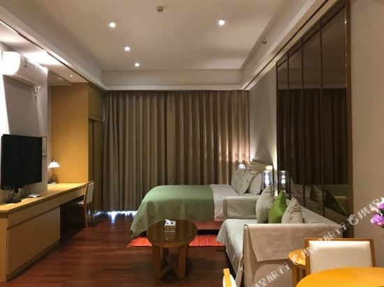 伊蓮·薩維爾國際酒店公寓(廣州珠江新城店)(Elaine Saville International Apartment Hotel (Guangzhou Zhujiang New Town))全景大床房