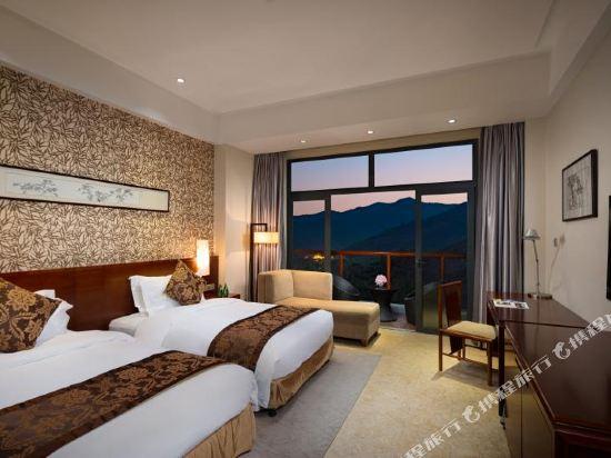 溧陽天目湖御水温泉度假酒店(Yu Shui Hot Spring Hotel)山景雙床房