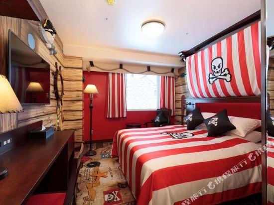 日本樂高樂園酒店(Legoland Japan Hotel)升級版豪華海盜主題房