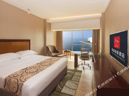 珠海海景酒店(Zhuhai Sea-view Hotel)全海景大床房