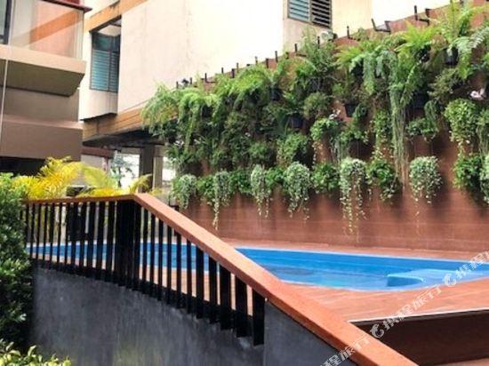 曼谷維拉酒店(Vela Hotel Bangkok)室外游泳池