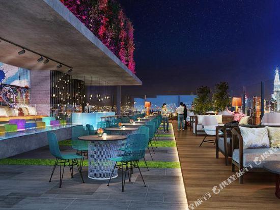 吉隆坡東姑阿都拉曼南希爾頓花園酒店(Hilton Garden Inn Kuala Lumpur Jalan Tuanku Abdul Rahman South)酒吧