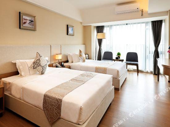 佛山友和酒店式服務公寓(Yuwa Residences & Hotel)優選雙床房