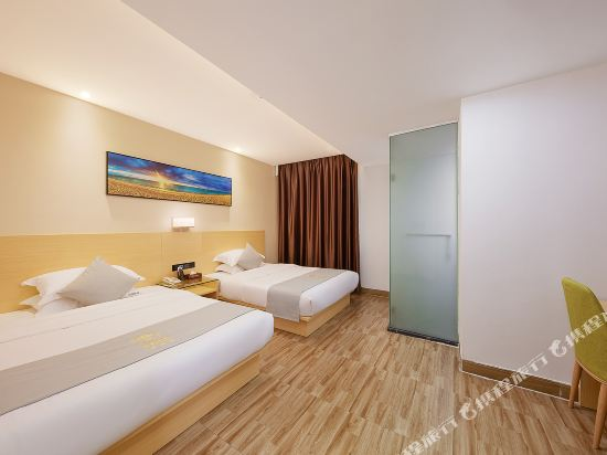 佰曼萊酒店·精選(廣州新白雲國際機場旗艦店)(Baimanlai Hotel Selected (Guangzhou New Baiyun International Airport))特價雙床房