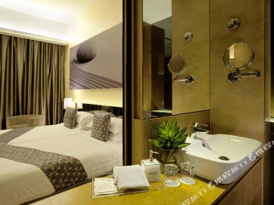 吉隆坡輝煌酒店(Vivatel Kuala Lumpur)白金樓層兩卧室家庭連通房