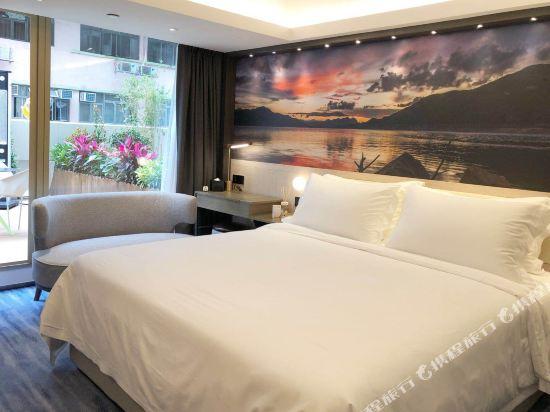 香港粵海酒店(GDH Hotel)智能房帶花園