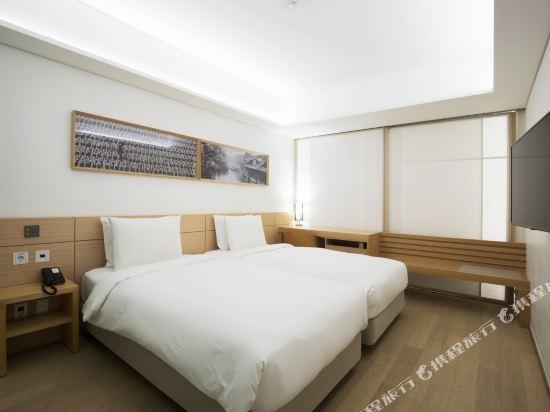 首爾明洞喜普樂吉酒店(Sotetsu Hotels The SPLAISIR Seoul Myeongdong)豪華高層雙床房