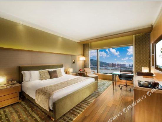 澳門大倉酒店(Hotel Okura Macau)豪華客房-帶加床