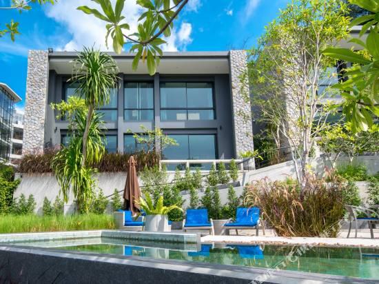 近卡瑪拉海灘W泳池現代別墅