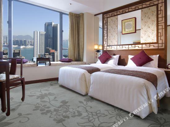 香港蘭桂坊(九如坊)(酒店)(Lan Kwai Fong Hotel Kau U Fong)相連海景房