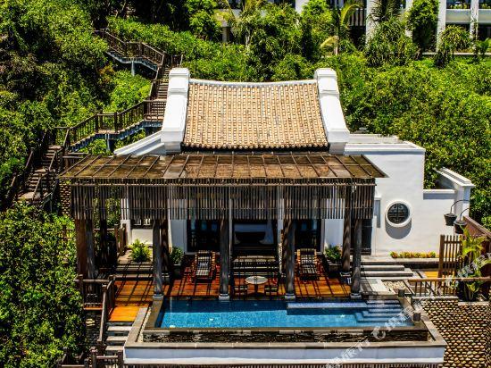峴港洲際陽光半島度假酒店(InterContinental Danang Sun Peninsula Resort)雙卧海濱山崖別墅