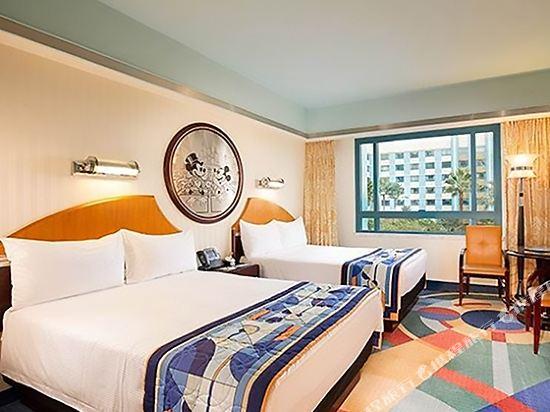 迪士尼好萊塢酒店(Disney's Hollywood Hotel)標準雙連家庭房