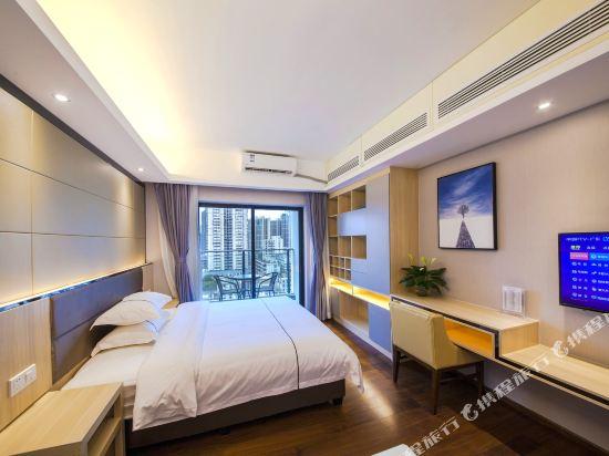 佰合精選國際度假公寓(北京路方圓時光店)(Baihe Selected International Holiday Apartment (Beijing Road Fangyuan Shiguang))高級大床房
