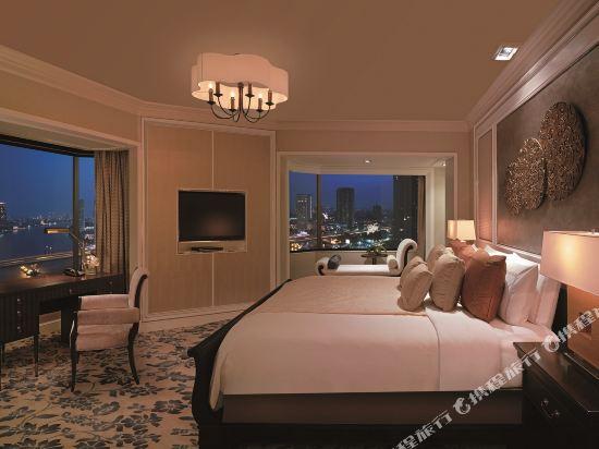 曼谷香格里拉酒店(Shangri-La Hotel Bangkok)SL Specialty Suite - Bedroom