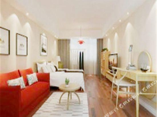 XY酒店公寓(北京金茂府店)(XY Apartment Hotel (Beijing Jinmaofu))智能特惠大床房