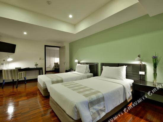 璀璨專享服務公寓(Abloom Exclusive Serviced Apartments)二卧室豪華房