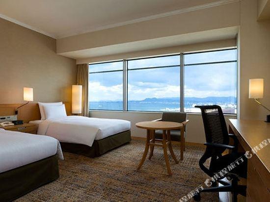福岡海鷹希爾頓酒店(Hilton Fukuoka Sea Hawk)希爾頓豪華雙床房