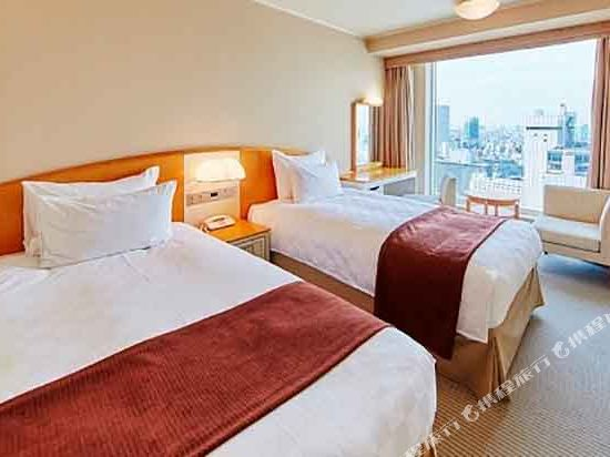 品川王子大飯店(Shinagawa Prince Hotel)主塔樓雙床房A