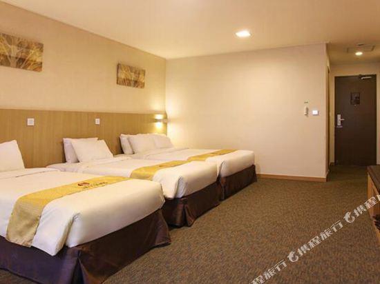 天空花園酒店濟州1號店(Hotel Skypark Jeju 1)四人房