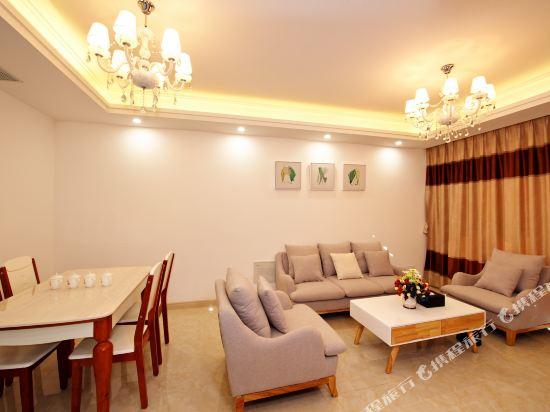 泰萊尚寓度假公寓(珠海海洋王國口岸店)(Tailai Shangyu Holiday Apartment (Zhuhai Ocean Kingdom Port))親子兩房兩廳套房
