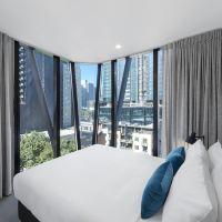 墨爾本中央安凡尼公寓酒店酒店預訂
