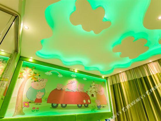 鮮住精品主題酒店(廣州野生動物園店)(原大石地鐵站店)(Xianzhu Boutique Theme Hotel (Guangzhou Wildlife Zoo))小豬佩奇雙床房