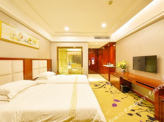 百合酒店(佛山樂從天佑城店)(原畔灣店)(Bai He Hotel (Foshan Lecong Tianyoucheng))惠享雙床房