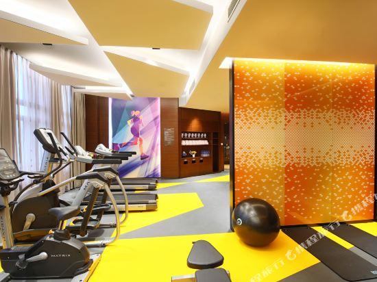 上海虹橋國家會展中心希爾頓歡朋酒店(Hampton by Hilton Shanghai Hongqiao Necc)健身房