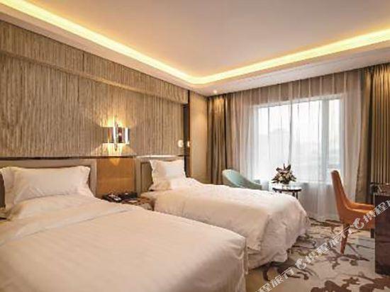 北京賽特飯店(SciTech Hotel)豪華雙床房