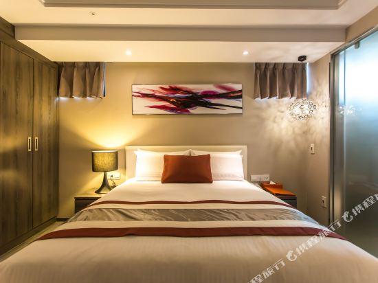 高雄蒂亞飯店-愛河館(Hotel-D)標準雙人房