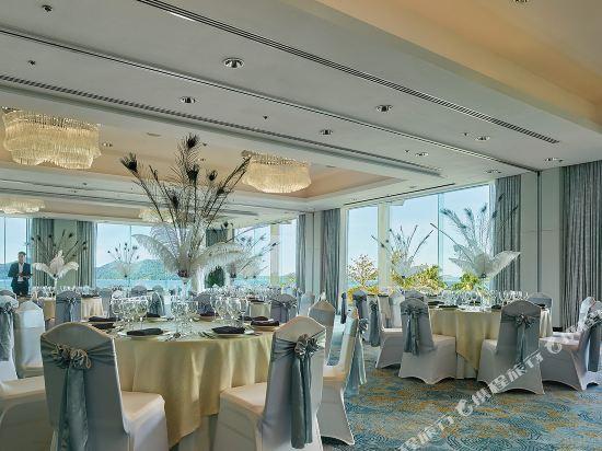 哥打京那巴魯香格里拉丹絨亞路酒店(Shangri-La's Tanjung Aru Resort & Spa Kota Kinabalu)餐廳