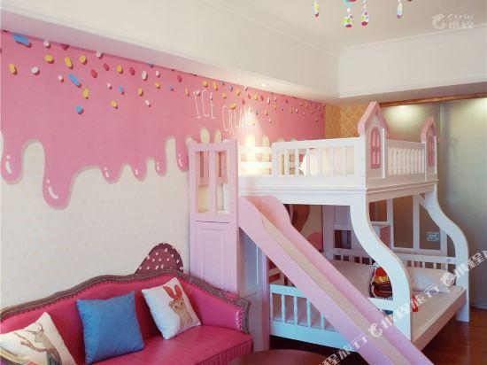 夢幻樂園親子主題公寓(廣州萬達廣場店)(Dreamland Family Theme Apartment (Guangzhou Wanda Plaza))糖果屋親子滑梯三床房