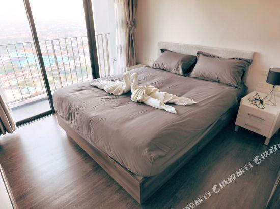 芭堤雅友客酒店式公寓 Pattaya Posh店(Youker Hostel Pattaya Posh)城景一卧室套房