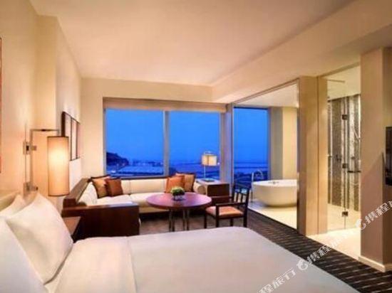 澳門君悅酒店(Grand Hyatt Macau)君悅豪華客房(大床)-帶加床